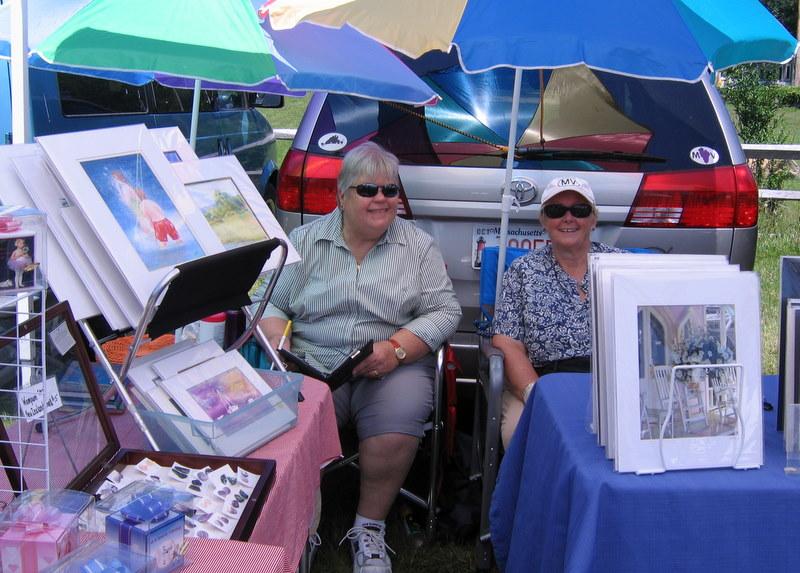 Sally Flood and Nancy Holt