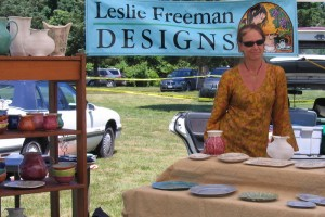 Leslie Freeman, Ceramics, 774-521-9622, www.lesliefreeman.com