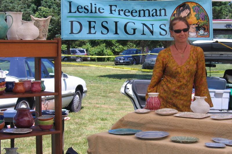 Leslie Freeman, Ceramics, 774-521-9622, www.lesliefreeman.com