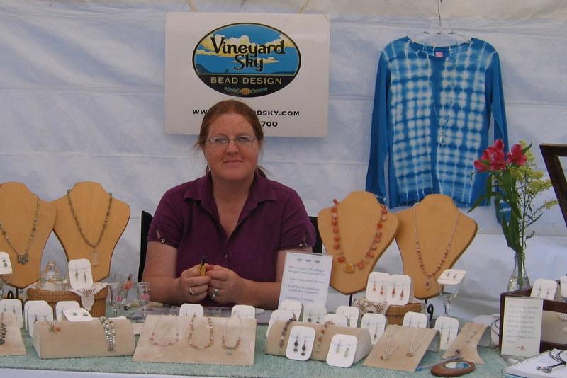 Sarah K. Young, Vineyard Sky Bead Design, www.vineyardsky.com,  www.vineyardsky.etsy.com, 508-696-8700, Sarah@vineyardsky.com