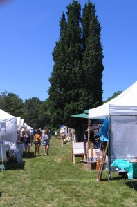2010 Flea Market Opening Day