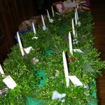 hand made wreaths(sold them all)