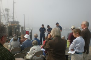 Congregation gathers at Menemsha