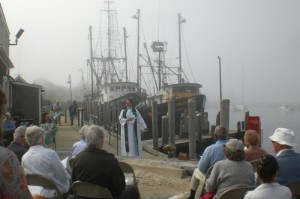 Rev. Arlene Bodge Blesses the Fleet