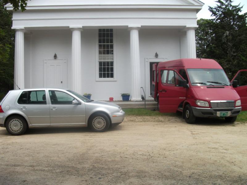 Stephen Russell's Van