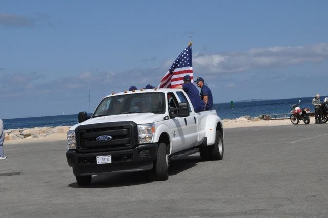 The Coast Guard Departs