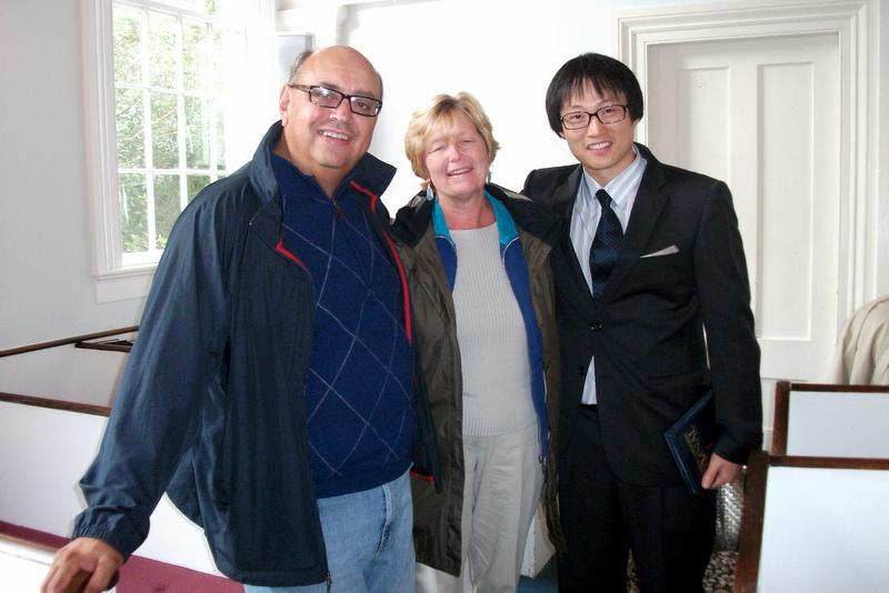 Joe, Faith and Pastor Ahn
