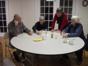Bananagrams with advisors