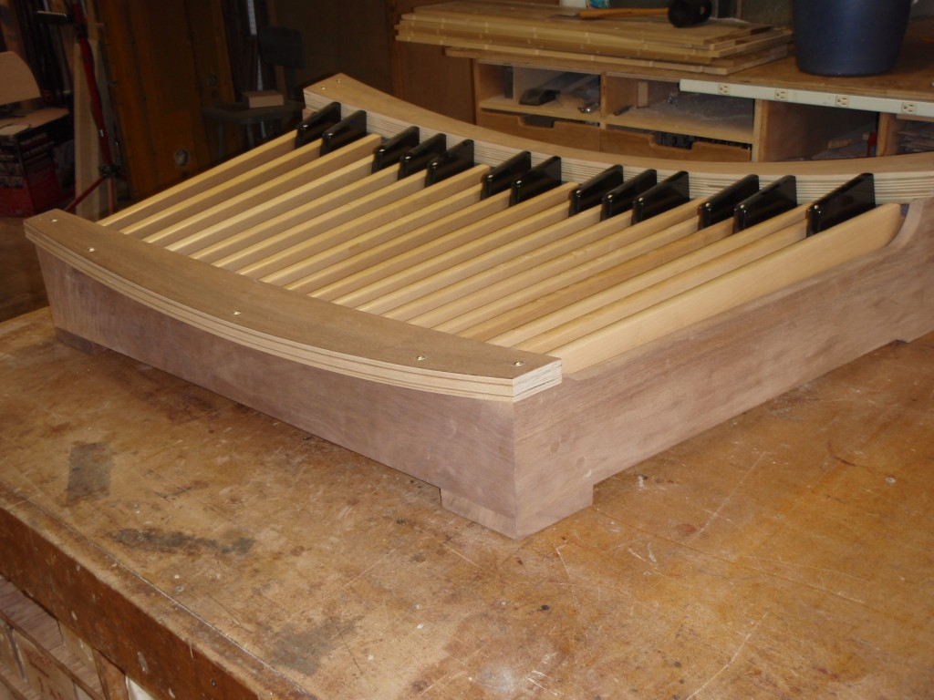Pedal board ready for finishing.