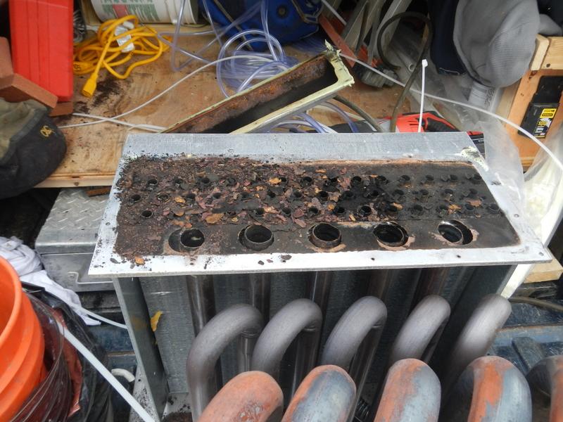 DSCN0141  heat exchange on old sanctuary furnace